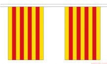 CATALONIA BUNTING - 9 METRES 30 FLAGS